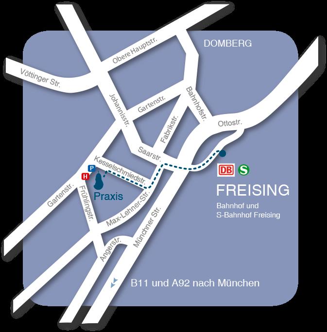 Kieferorthopaedie-Tischer-Odintov-Anfahrt_Freising